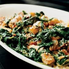 creamed spinach and parsnips thanksgiving recipes side dishes