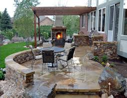 patio designs with fireplace home design photo gallery