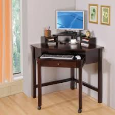 Black Computer Desk With Hutch Furniture Black Computer In Corner Desk With Hutch
