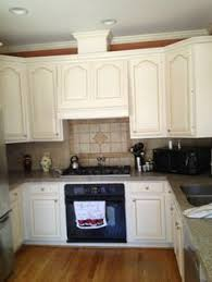 kitchen cabinets refinished before and after cabinet refinishing
