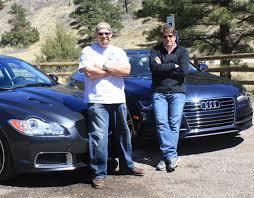 video 2012 audi a7 vs jaguar xfr mashup review the fast lane car