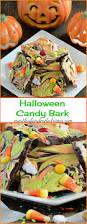 easy halloween candy bark recipe halloween party treats candy