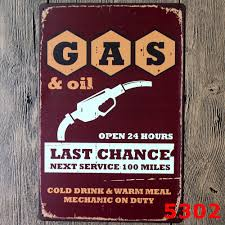 Vintage Home Decor Stores by Compare Prices On Vintage Gas Signs Online Shopping Buy Low Price