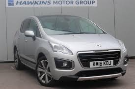 used peugeot suv for sale used peugeot 3008 16 bluehdi 120 allure ss for sale in hayle