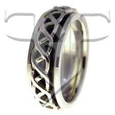 spinner ring stress reliever spinner ring celtic knot band
