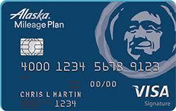 photo card alaska airlines visa signature credit card