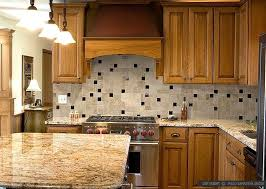 kitchen travertine backsplash overwhelming kitchen backsplash photos ideas brown cabinet