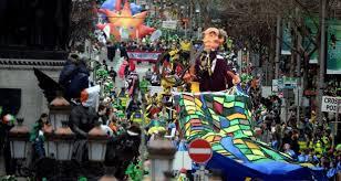 dublin u0027s st patrick u0027s day parade embraces march madness