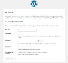 Wordpress Hosting Title How To Deploy And Host A Wordpress Website Getting Started With