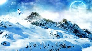 sunny snowy mountains wallpapers snowy wallpapers wallpapersafari