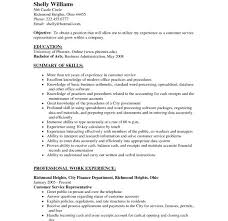 Food Service Resume Example by Best Customer Service Objective Pictures Best Resume Examples