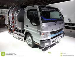 mitsubishi truck 2000 mitsubishi fuso ecohybrid duonic editorial stock photo image