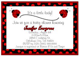 ladybug baby shower invitations ideas free invitations ideas