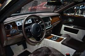 roll royce car inside rolls royce ghost series ii launched at inr 4 5 crores