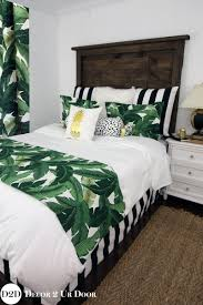 Palm Tree Bedspread Sets Drift Away To A Sweet Slumber Every Night Under Our Tropical Chic