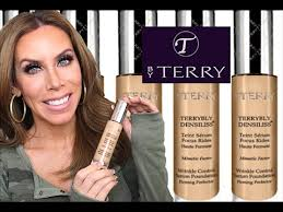 by terry terrybly densiliss wrinkle control serum foundation 8 5 by terry terrybly densiliss foundation review and demo youtube