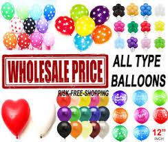 wholesale balloons 100 5000 bulk price joblot quality any
