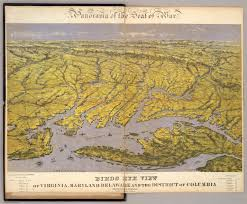 Maryland Virginia Map by Virginia Maryland Delaware And The District Of Columbia David