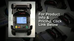 fitel s123 m12 ribbon fiber fusion splicer youtube