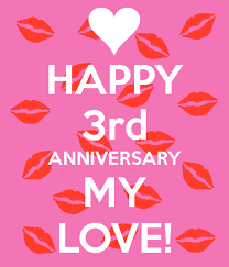 3rd wedding anniversary third wedding anniversary wishes greetings pictures wish