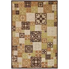 home decorators collection tyler beige 5 ft 1 in x 7 ft 6 in