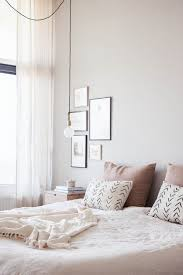 Feminine Bedroom Furniture by A Neutral Yet Feminine Bedroom With Soft Pastels An Industrial