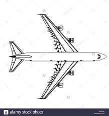 airline black and white stock photos u0026 images alamy