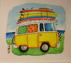volkswagen van art v w camper vans victoria art gallery