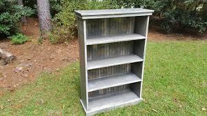 coastal oak designs shabby chic cottage bookcase