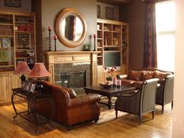 our 40 fave designer living rooms chocolate brown walls wood