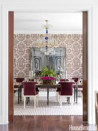 Wallpaper In Dining Room Unique Dining Room Decorating Ideas