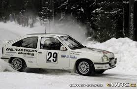 opel kadett rally car mats jonsson johnny johansson opel kadett gsi