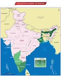 India States Map Which State Of India Is The Largest Tea Producer