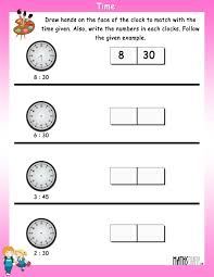 Clock Worksheets Grade 1 Grade 1 Math Worksheets Page 16