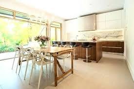 cuisine moderne bois massif table de cuisine design but table de cuisine design cuisine