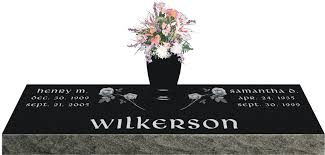 flat grave markers model sd336a v companion grave marker with vase gravestones and