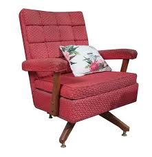 Upholstered Rocking Chairs Red Upholstered Rocking Chair Ebth