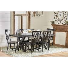 Magnolia Homes Waco by Magnolia Home By Joanna Gaines Primitive Sawbuck Dining Table Set