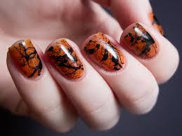 spooky splatter nails tutorial splatter nails chalkboard