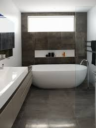 Small Tiled Bathrooms Ideas by Gray Tile Bathroom Save Photogray Tile Bathroom Houzz Bathroom