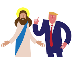 jesus christ reacts to donald trump in new animated film