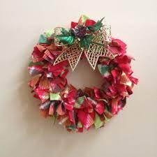 easy diy fleece wreath for under 5