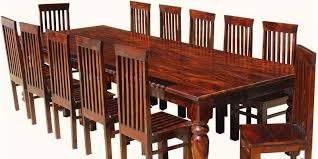 Arts And Crafts Dining Room Furniture San Francisco Rustic Furniture Large Dining Table With 10 Chairs