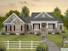 house one level craftsman house plans