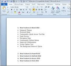 Resume On Microsoft Word 2010 Directly Send Word 2010 Document To Powerpoint 2010