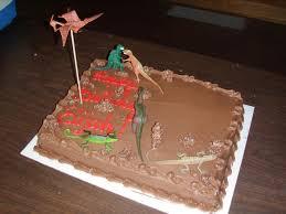 pretty easy erupting volcano birthday cake using dry ice 6