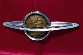 1950 oldsmobile ornament photograph by bill schaudt