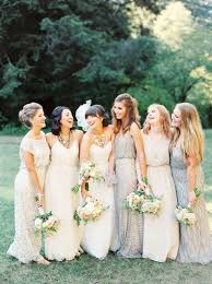 papell bridesmaid dress the ultimate guide to sparkling metallic dresses for your wedding