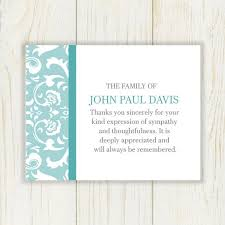 funeral thank you cards thank you cards for funerals best 25 funeral thank you notes ideas