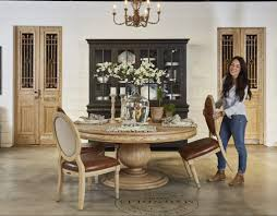 magnolia farms dining table the making of a furniture showroom joanna gaines furniture joanna